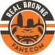 real browns fans logo